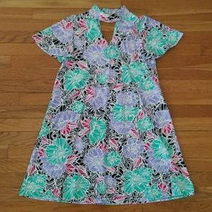 Aryeh Floral V Dress - S